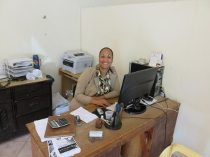Bethania in APC Office